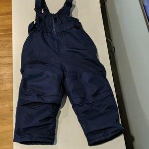 **3/7.00* Snow pants navy